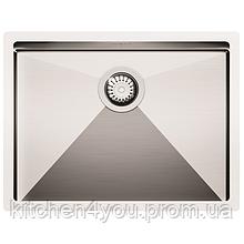 Кухонная мойка из нержавеющей стали 590х450 AquaSanita ENN100L