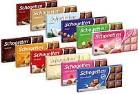 Шоколад Schogetten 100 г. Немецкий разные виды шоколада