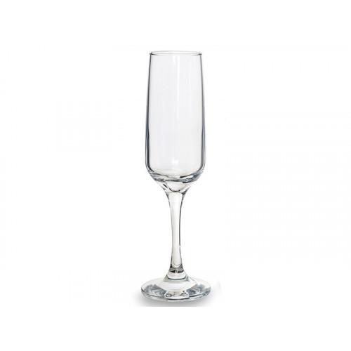 Набор бокалов для шампанского Pasabahce Isabella 200 мл 6 шт 440270