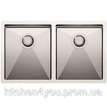 Кухонная мойка из нержавеющей стали 760х450 AquaSanita ENN200L