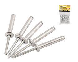 Слепые заклепки 4.8х8 мм, 50 шт алюминиевые MASTERTOOL (20-0630)