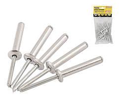 Слепые заклепки 4.8х30 мм, 50 шт алюминиевые MASTERTOOL (20-0610)