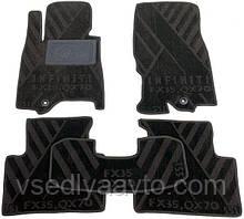 Композитные коврики в салон Infiniti S51 (FX35, QX70) с 2008- г.(AVTO-Tex)