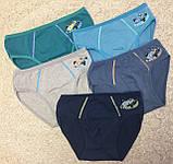 Детские-Подростковые трусы плавки для мальчиков 6-8 лет,,DONI,,, фото 3