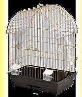 Клітка для папуги Віола 470*300*620 золото