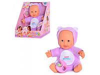 Кукла  Дочки-Матери погремушка муз двигается Joy toy  5234