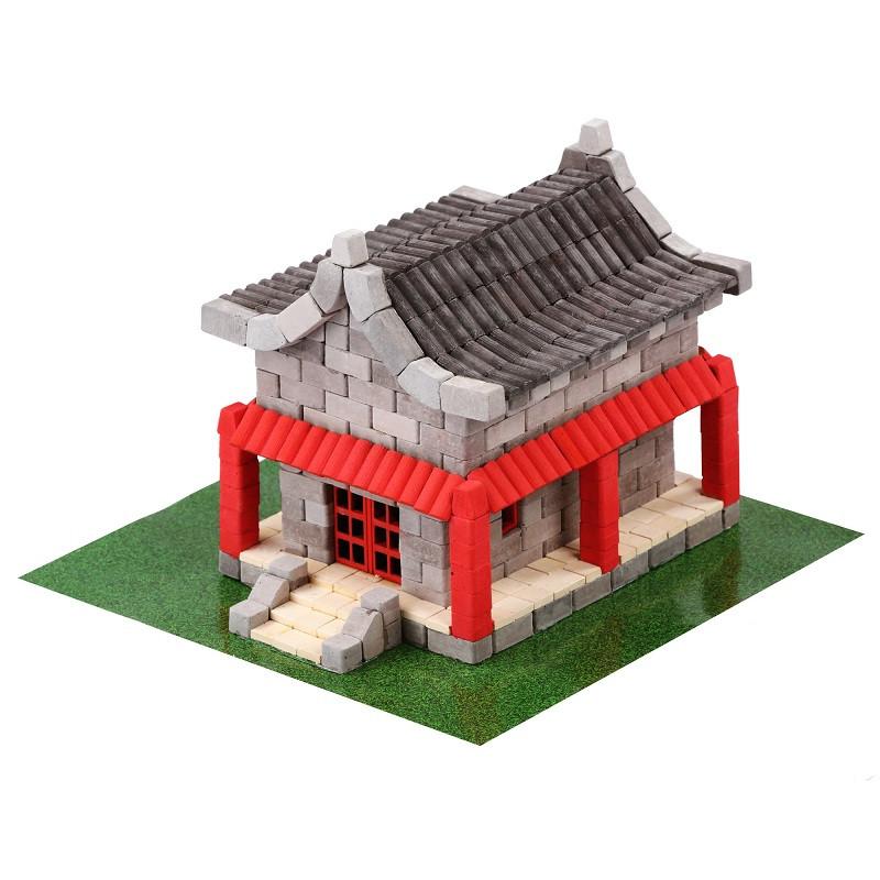 """Конструктор з міні-цеглинок """"Китайський будиночок"""""""