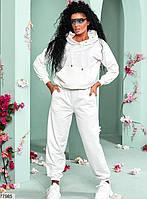 Трикотажный спортивный костюм из кофты с капюшоном и штанов с 42 по 48 размер, фото 3