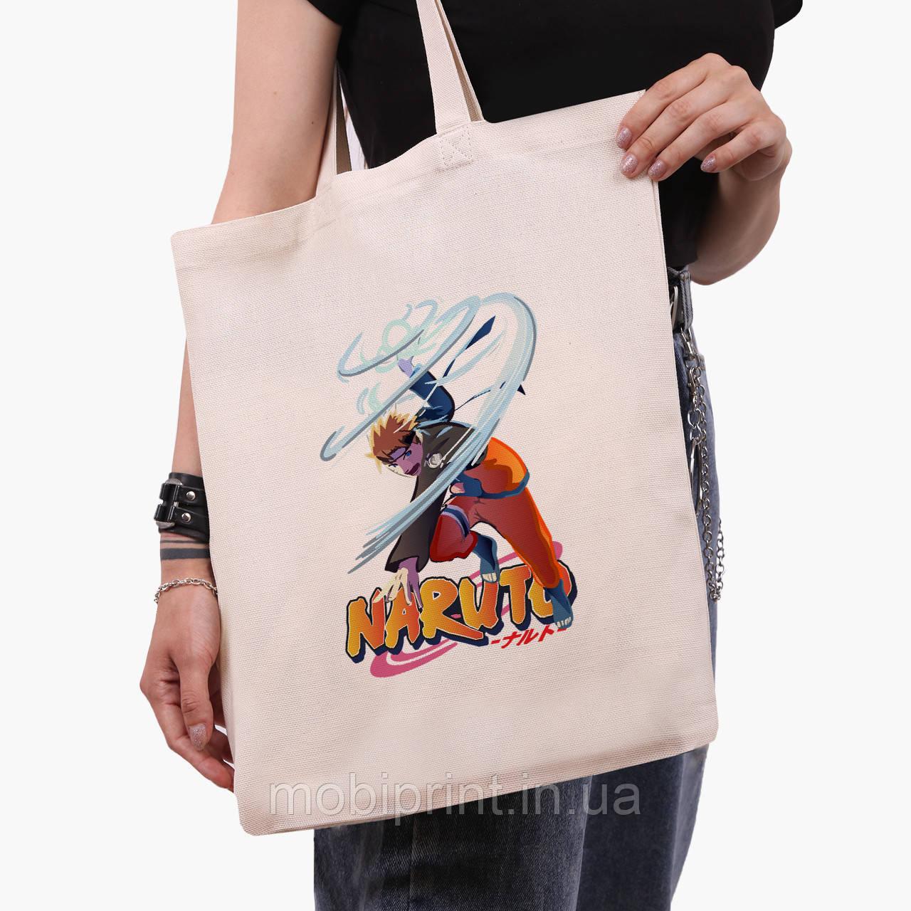 Еко сумка шоппер Наруто Узумакі (Naruto Uzumaki) (9227-2814) 41*35 см