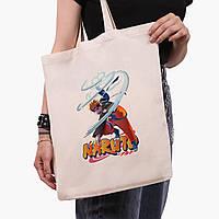 Еко сумка шоппер Наруто Узумакі (Naruto Uzumaki) (9227-2814) 41*35 см, фото 1
