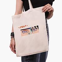Эко сумка шоппер Наруто Узумаки и Саске Учиха (Naruto Uzumaki and Sasuke Uchiha) (9227-2819)  41*35 см , фото 1