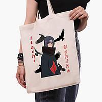 Эко сумка шоппер Итачи Учиха (Itachi Uchiha) (9227-2821)  41*35 см , фото 1