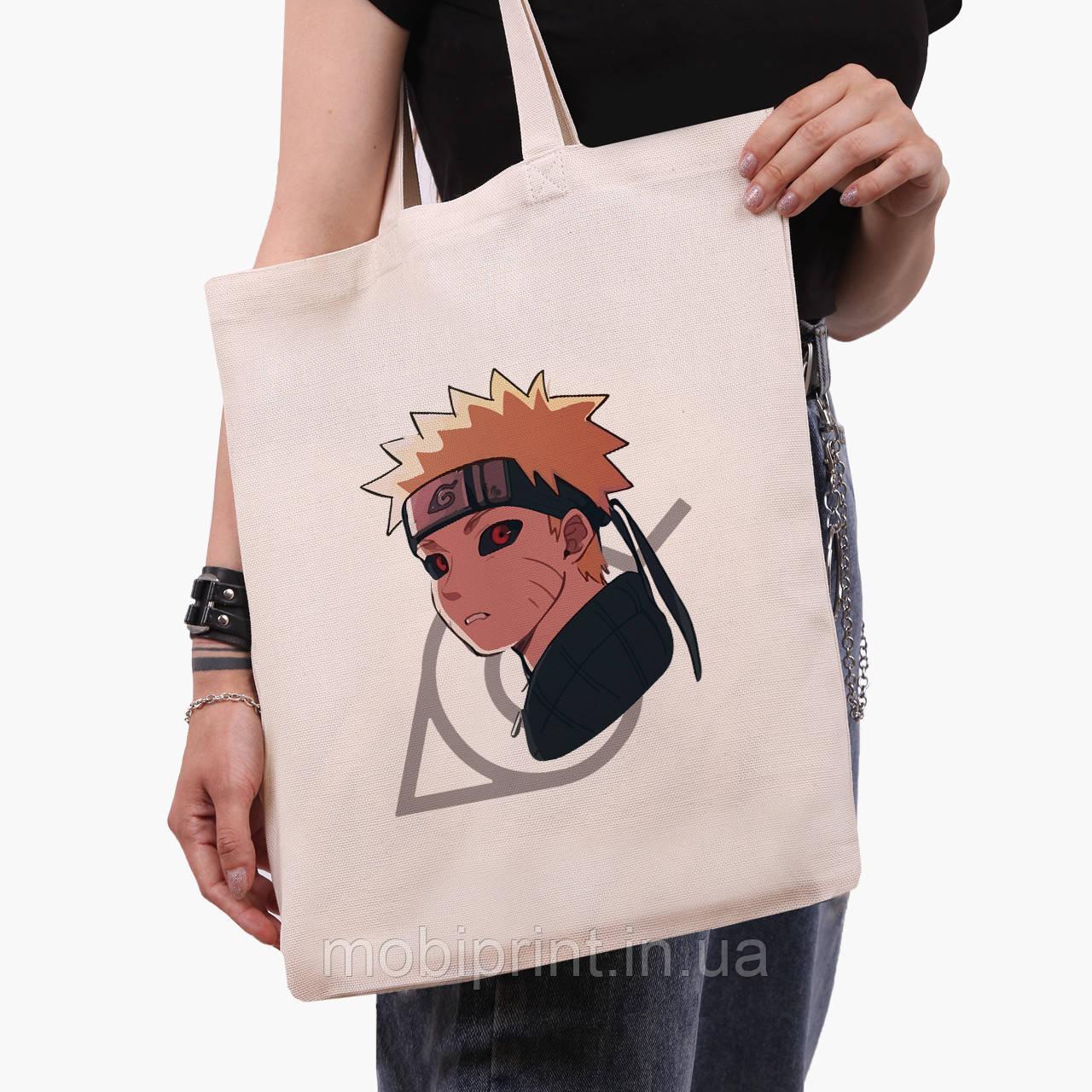 Эко сумка шоппер Наруто Узумаки (Naruto Uzumaki) (9227-2822)  41*35 см