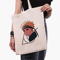 Эко сумка шоппер Наруто Узумаки (Naruto Uzumaki) (9227-2822)  41*35 см , фото 1