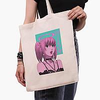 Еко сумка шоппер Міса Аманэ Зошит смерті (Misa Amane Death Note) (9227-2827) 41*35 см, фото 1
