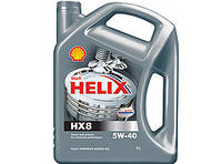 Масло моторное SHELL HELIX HX8 SYNTHETIC 5W-40 4L