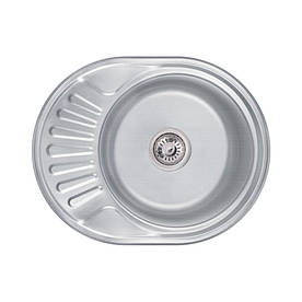 Кухонна мийка Lidz 6044 Decor 0,6 мм (LIDZ604406DEC)
