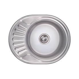 Кухонна мийка Lidz 6044 Polish 0,8 мм (LIDZ6044POL)