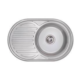 Кухонна мийка Lidz 7750 Polish 0,6 мм (LIDZ775006POL)