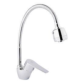 Змішувач для кухні з рефлекторним виливом Lidz (CRM)-20 38 008 04
