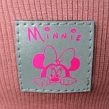 """М 93566. Комплект для дівчаток шапка подвійна """"MINNIE"""" і хомут Vivatricko, 2-10 років, різні кольори, фото 5"""