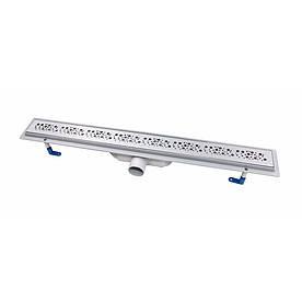 Трап лінійний Qtap Dry FC304-800 з нержавіючою решіткою 800х73