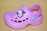 Детские Кроксы Vitaliya Украина 11004 Для девочек Розовый размеры 22_33, фото 1