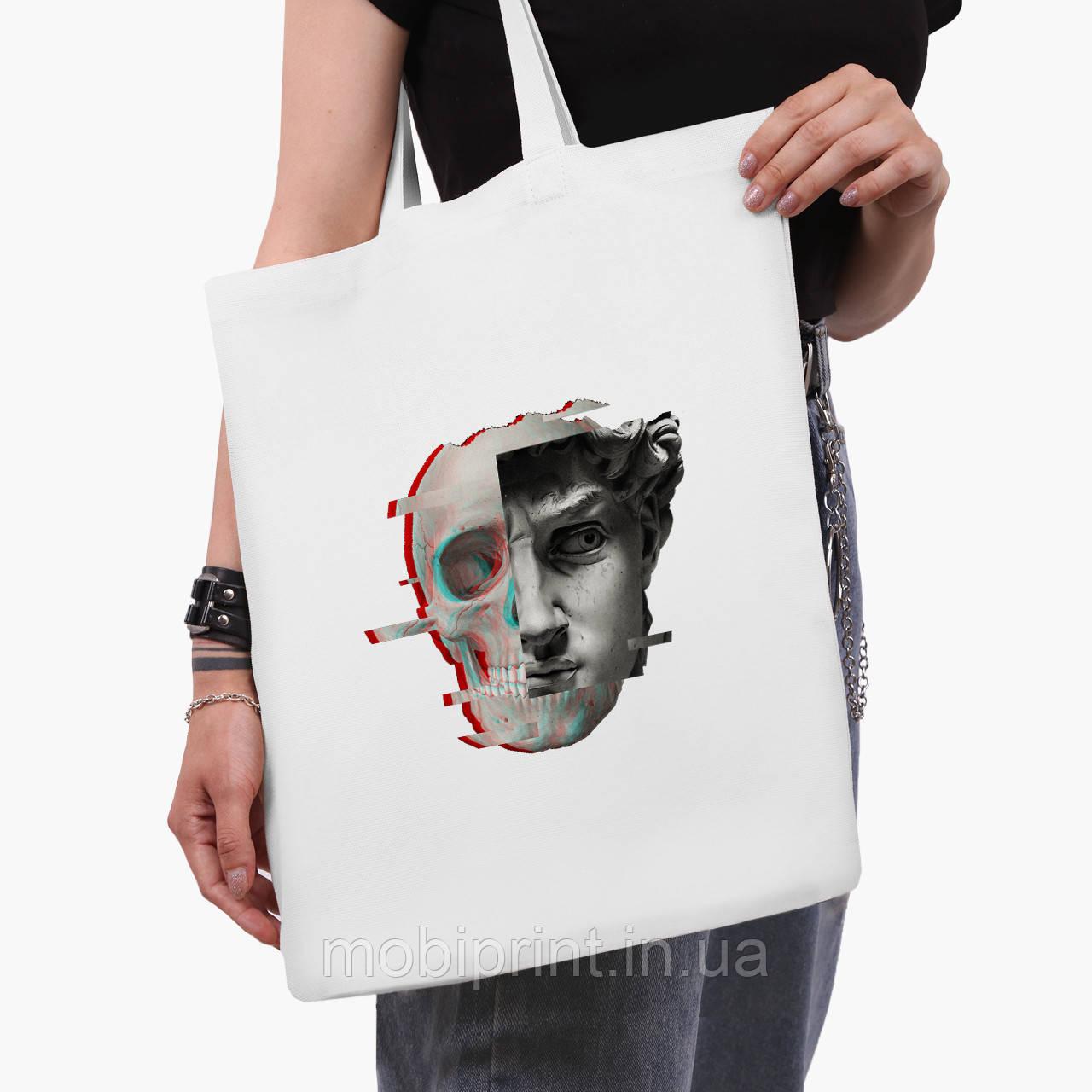 Еко сумка шоппер біла Ренесанс-Давид (David Renaissance) (9227-1585-3) 41*35 см