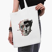 Еко сумка шоппер біла Ренесанс-Давид (David Renaissance) (9227-1585-3) 41*35 см, фото 1