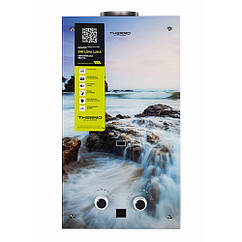 Газовая колонка Thermo Alliance дымоходная JSD20-10GA 10 л стекло (море)