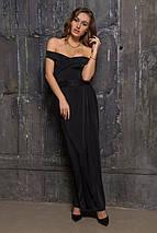 Длинное платье со спущенным плечом (2142 sk), фото 2