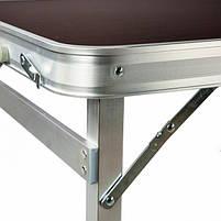 Стіл для пікніка розкладний зі стільцямі Rainberg RB-9301 з 4 стільцямі. Стіл розкладний для пікніка, фото 3