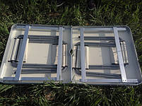 Стіл для пікніка розкладний зі стільцямі Rainberg RB-9301 з 4 стільцямі. Стіл розкладний для пікніка, фото 4