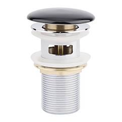 Донный клапан для раковины Qtap F009-1 BLA с переливом