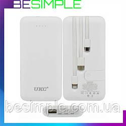Мобильная зарядка, Повербанк POWER BANK LP303 10000mah+cable IP/v8/type C