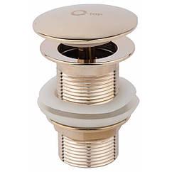 Донный клапан для раковины Qtap Liberty ORO L03
