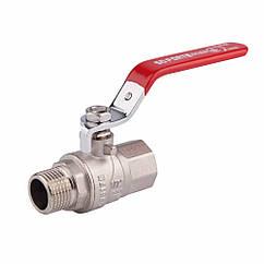 """Кран шаровой SD Forte 1"""" 1/2 ВН для воды (ручка) SF605W40"""