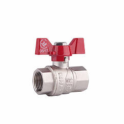 "Кран шаровой SD Forte 3/4"" ВР для воды (бабочка) SF602W20"