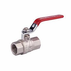 "Кран шаровой SD Forte 1/2"" ВР для воды (ручка) SF600W15"
