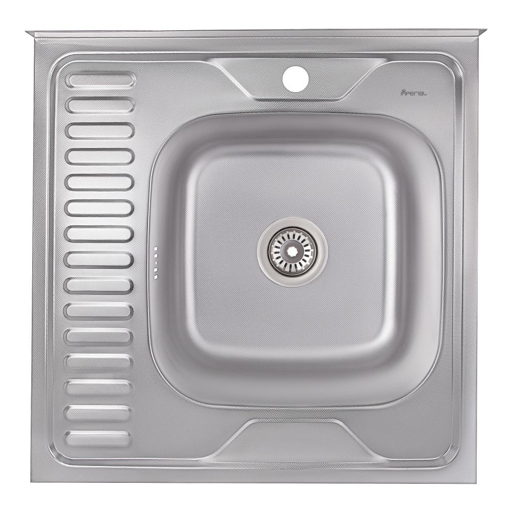 Кухонна мийка Imperial 6060-R Decor (IMP6060RDEC)