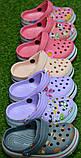 Детские шлепанцы кроксы сабо crocs для мальчика серые р18-23, фото 3