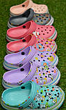 Детские шлепанцы кроксы сабо crocs для мальчика серые р18-23, фото 4