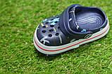 Детские шлепанцы кроксы сабо crocs для мальчика серые р18-23, фото 7