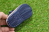 Детские шлепанцы кроксы сабо crocs для мальчика серые р18-23, фото 8