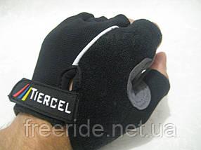 Велоперчатки беcпалые Tiercel черные (XL), фото 3