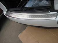 Хром на задник бампер Mitsubishi Outlander