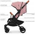 """Дитяча коляска-прогулянка з швидким механізмом складання типу """"книжка"""" El CaminoM 3910 YOGA II Pale Pink, Рожевий, фото 9"""