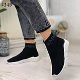 Женские кроссовки Balenciaga высокие текстиль. Очень удобные!, фото 5