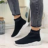 Женские кроссовки Balenciaga высокие текстиль. Очень удобные!, фото 4