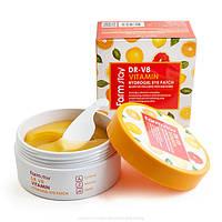 Патчи для глаз FarmStay DR-V8 Vitamin Hydrogel Eye Patch 60 шт